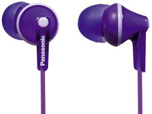 Panasonic Ear Bud Headphone RP-HJE125-V Violet
