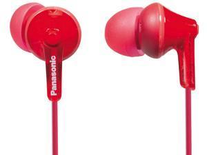 Panasonic Ear Bud Headphone RP-HJE125-R Red