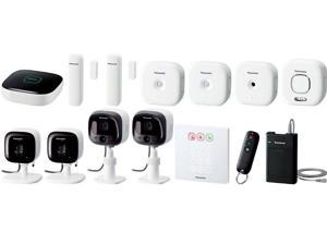 Smart Home Monitoring System Complete Kit for Small Business - KX-HN6092W
