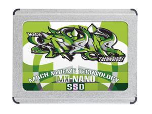 "Mach Xtreme 60GB NANO ZIF PATA 1.8"" SSD Read: 120MB/s, Write: 65MB/s also compatible with Early 2008 MacBook Air."