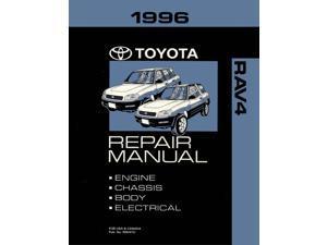 1996 Toyota Rav4 Shop Service Repair Manual Book Engine Drivetrain OEM