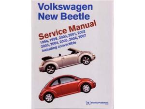 1998-2007 2004 2005 2006 Vw New Beetle Shop Service Repair Manual Book Engine