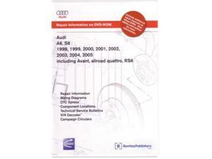 1998 2003 2004 2005 Audi A6 S6 Rs6 Shop Service Repair Manual DVD Engine Wiring