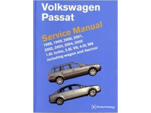 1998-2005 2001 2002 2003 2004 Vw Passat Shop Service Repair Manual Factory OEM