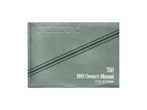 1989 Volvo 760 Owners Manual User Guide Reference Operator Book Fuses Fluids