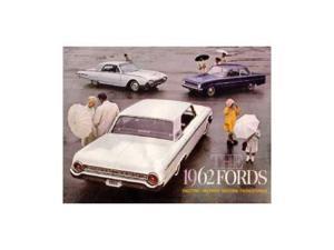 1962 Ford Sales Brochure Literature Book Piece Advertisement Specs Options