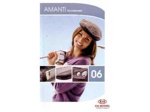 2006 Kia Amanti Accessories Sales Brochure Literature Options Specifications