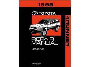 1995 Toyota 4-Runner Shop Service Repair Manual Book Engine Drivetrain OEM