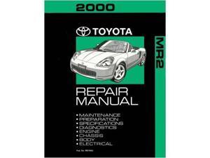 2000 Toyota MR-2 Shop Service Repair Manual Book Engine Drivetrain OEM