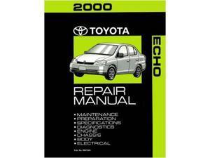 2000 Toyota Echo Shop Service Repair Manual Book Engine Drivetrain OEM