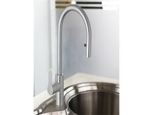 SUPOR Stainless Steel Lead Free Kitchen Faucet - Pull Out Spray Head (211917-02-LS)