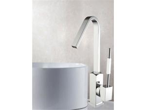 Basin&Sink Faucet - Single Hole Single Lever - Brass with Chrome Finish (6212)