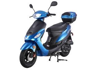 TaoTao ATM50-A1 Gas Street Legal Automatic Scooter, 50cc - Blue