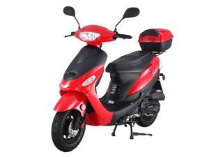 TaoTao ATM50-A1 Gas Street Legal Scooter - Red, 50cc, Automatic