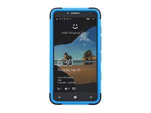 MyBat Carrying Case for Alcatel-5054 Onetouch Fierce XL - Retail Packaging - Dark Blue/Black