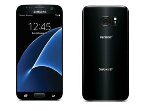 Samsung Galaxy S7 SM-G930V - 32GB (VERIZON) GSM Unlocked - BLACK ONYX, for AT&T, T-Mobile and All GSM Unlocked Worldwide (Read Below for Carrier Compatibility)