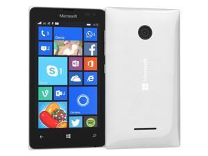 Microsoft Nokia Lumia 435 Windows 8 GSM Smartphone - No Contract, T-Mobile (White)