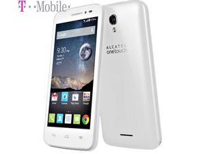 "Alcatel OneTouch Pop Astro Android 4.4 Kitkat Smartphone White 4g LTE, 5MP Camera, 4.5"" HD Display T-mobile, Simple Mobile, Ultra Mobile, Lyca Mobile"