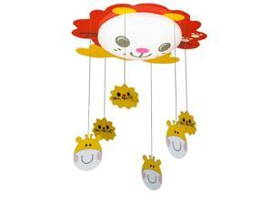 LED Cartoon Animal Kid's Room Ceiling Lamp Baby Room Ceiling Lamps Bedroom Ceiling Hanging Light