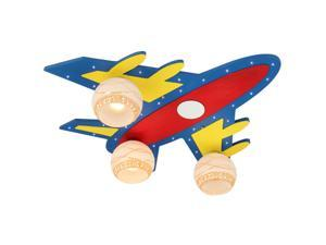 Creative Fashion Airplane Boy's Room Ceiling Lights Cute LED Kid's Room Ceiling Light Bedroom Ceiling Lamps