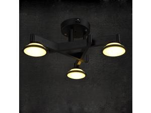Creative American Village Dining Room Ceiling Lamps Vintage Iron Bedroom Ceiling Lights Study Room Ceiling Light Fixtures