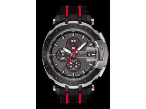 Tissot T-Race MotoGP 2015 Anthracite Dial Black and Red Rubber Band Automatic Mens Sports Watch T0924272706100