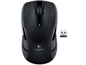 Logitech Wireless Mouse M545(M525 Upgrade) 2.4GHz 4 Buttons Tilt Wheel USB RF Wireless Optical Mouse-Black