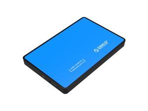 ORICO 2588US3-BK Tool-Free USB 3.0 2.5-inch SATA External Hard Drive Enclosure Adapter Case-Blue