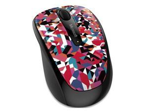 Microsoft 2.4GHz RF Wireless BlueTrack Both Hands 1000DPI 3 Buttons Mobile Mouse 3500