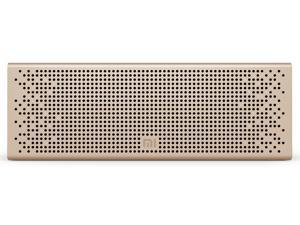 Xiaomi Bluetooth Speaker Wireless Stereo Mini Portable Speaker MP3 Player for Mobile Phone Tablet Notebook TV Handsfree with Mic Support Micro SD TF Card Aux-in Answer Call-White/Blue/Pink/Gold