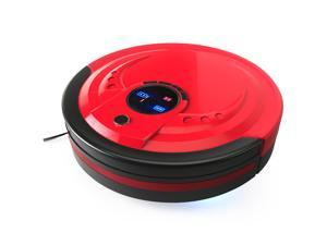 bObsweep Standard Robotic Vacuum Cleaner and Mop, Rouge