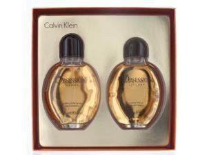 Obsession By Calvin Klein - 2 PIECE GIFT SET - 4.0 OZ EAU DE TOILETTE SPRAY, 4.0 OZ AFTERSHAVE