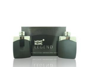 Mont Blanc Legend By Mont Blanc - 2 PIECE GIFT SET - 3.3 OZ EAU DE TOILETTE, 3.3 OZ AFTER SHAVE LOTION