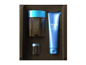 Tous Man Sport By Tous Perfumes - 3 PIECE GIFT SET - 3.4 OZ EAU DE TOILETTE SPRAY, 5.0 AFTERSHAVE BALM, MINI