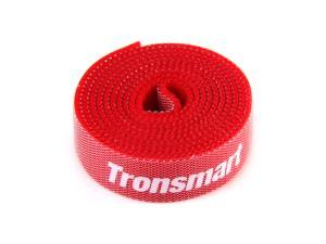 Tronsmart CBT-1S Reusable Hook & Loop Cable Ties Nylon Strap Power Wire Management Magic Tape Sticks