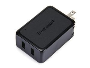 Tronsmart 4.8A/36W Dual USB Travel Wall Charger with Quick Charge 2.0 Technology.Foldable Plug for iPhone iPad, Samsung Galaxy, HTC Nexus Power Bank and More