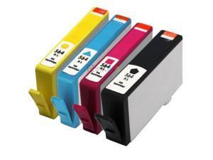 E-Z Ink ™ Remanufactured Ink Cartridges for HP 564XL 564 XL (1 Black, 1 Cyan, 1 Magenta, 1 Yellow) CN684WN CN685WN CN686WN CN687WN