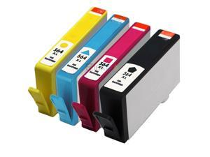 E-Z Ink ™ Remanufactured Ink Cartridge Replacement For HP 564XL 564 XL High Yield (4) Pack (1 Black, 1 Cyan, 1 Magenta, 1 Yellow) CN684WN CB323WN CB324WN CB325WN