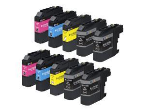 E-Z Ink ™ Compatible Ink Cartridge Replacement For Brother LC-103 LC-103XL LC103XL LC 103 XL High Yield (10) Pack (4 Black, 2 Cyan, 2 Magenta, 2 Yellow) LC103BK LC103C LC103M LC103Y