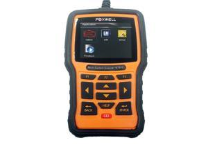 Foxwell NT510 Multi-System Scanner for Gm with Advanced Functions Such As Actuation, Adaptation And Programming