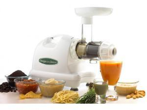 OMEGA NUTRITION CENTER-Heavy Duty Masticating Juicer-White Not just for juicing&#59; turn nuts into nut butter, extrude pasta, grind coffee and spices, mince herbs and garlic  GREAT HOLIDAY GIFT