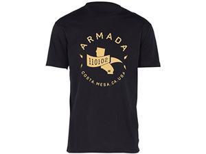 Armada Men's Heritage Tee Shortsleeve (Black, Medium)
