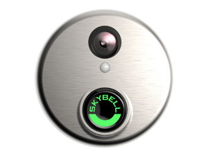 Honeywell SkyBell Video Doorbell Silver DBCAM works with Total Connect for your Honeywell Alarm System