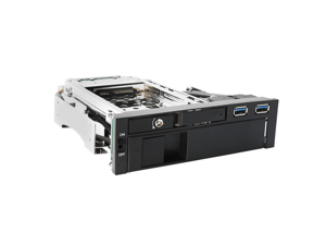 """Multi-Function HDD Rack for 2.5"""" & 3.5"""" SATA with USB 3.0 (KF-256-BK)"""