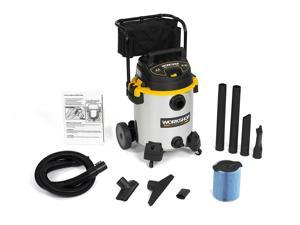 WORKSHOP Wet Dry Vacs WS1600SS Heavy Duty Shop Vacuum w Cart 16G 6.5 Peak HP