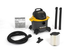 WORKSHOP Wet Dry Vacs WS0610VA General Purpose Shop Vacuum 6G 3.5 Peak HP