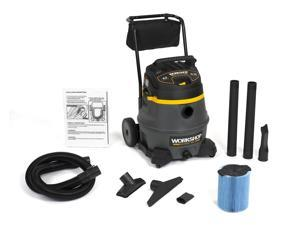 WORKSHOP Wet Dry Vacs WS1400CA Heavy Duty Shop Vacuum w Cart 14G 6.0 Peak HP