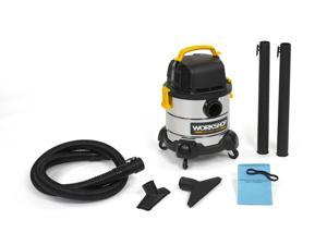 WORKSHOP Wet Dry Vacs WS0400SS Portable Wet Dry Shop Vacuum 4-Gallon 2.5 Peak HP