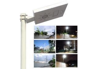 Solar Omega Street Light, with Lithium Battery Technology & PIR Motion Sensor & Dimmable Feature, Full Brightness 3000 Lumen, as Floodlight / Spotlight / Lamp Post Light / Outdoor Lighting