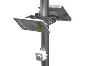 SCO Mart G580X Solar Street Light 730 Lumen Full Brightness, with Standalone Guardian PIR Motion Sensor and Lithium Battery, 3 Lighting Modes